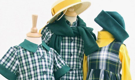 Specialist school uniforms custom designed by Paloma for Schools